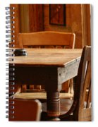 Sit Down For A Spell Spiral Notebook