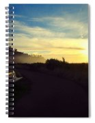 sit With Me And Watch The Sunset Spiral Notebook
