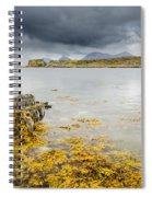 Site Of Dunscaith Castle Spiral Notebook