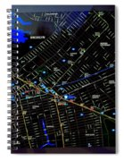 Sites And Subways Spiral Notebook