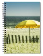 Sitting By The Shore Spiral Notebook