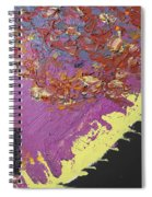 Sitting On The Edge Of The Earth Spiral Notebook