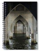 Siuslaw River Bridge Florence Oregon Spiral Notebook