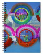 Six American Spring Icons Spiral Notebook