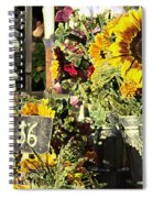 Six Buxadance Spiral Notebook