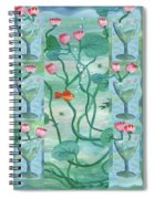 Six Of Cups Spiral Notebook