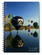 Six On The Pond Spiral Notebook