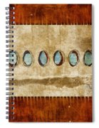 Six Turquoise Moons Spiral Notebook