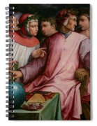 Six Tuscan Poets Spiral Notebook