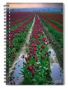 Skagit Valley Tulips Spiral Notebook