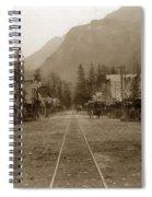 Skagway Alaska H. C. Bailey Photographer June 15 1898 Spiral Notebook