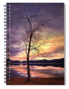 Skaha Lake On A Saturday Morning Spiral Notebook