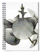 sketch of Brasilia skyline Spiral Notebook