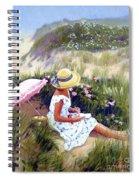Sketching Vineyard Dunes Spiral Notebook