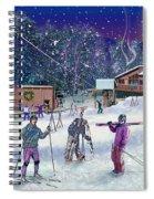 Ski Area Campton Mountain Spiral Notebook