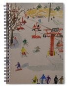 Ski Area Spiral Notebook