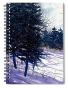 Ski Hill Spiral Notebook
