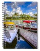 Ski Nautique Boats Spiral Notebook