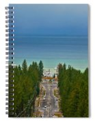 Ski Run Blvd Spiral Notebook