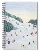 Ski Vening Spiral Notebook