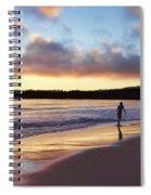 Skimboarder Sunset #2 Spiral Notebook