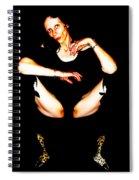 Skin And Leopardskin Spiral Notebook