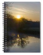 Skippack Creek Sunrise Spiral Notebook