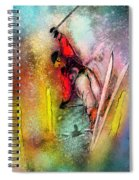 Skiscape 02 Spiral Notebook