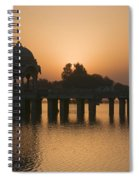 Skn 1368 Sunrise Flight Spiral Notebook