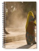 Skn 1690 Twin Sweepers Spiral Notebook