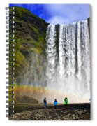 Skogarfoss Spiral Notebook