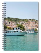 Skopelos Harbour Greece Spiral Notebook