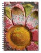 Skc 0008 Scraped Paint Spiral Notebook