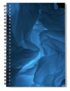 Skc 0247 Mystery In Blue Spiral Notebook