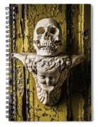 Skull And Angel Spiral Notebook