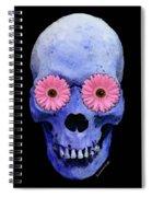 Skull Art - Day Of The Dead 1 Spiral Notebook