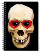 Skull Art - Day Of The Dead 2 Spiral Notebook