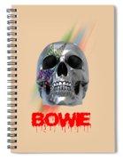 Skull Bowie  Spiral Notebook