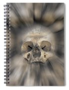 Skull - Fear And Trembling  Spiral Notebook