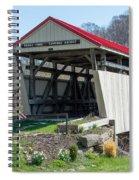 Skull Fork Covered Bridge Spiral Notebook