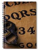 Skull Planchette Spiral Notebook