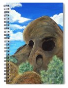 Skull Rock Spiral Notebook