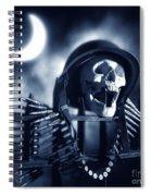 Skull Spiral Notebook