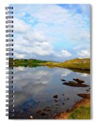Sky Blue Spiral Notebook