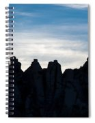 Sky Castles - The Mojave Spiral Notebook
