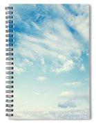 sky Spiral Notebook