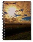 Farmland Sky Spiral Notebook