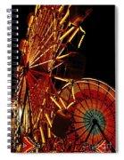 Sky Diver - Carnival Spiral Notebook