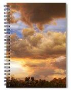 Sky Fire  Spiral Notebook