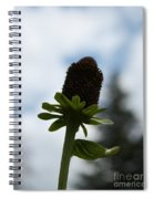 Sky Flower Spiral Notebook